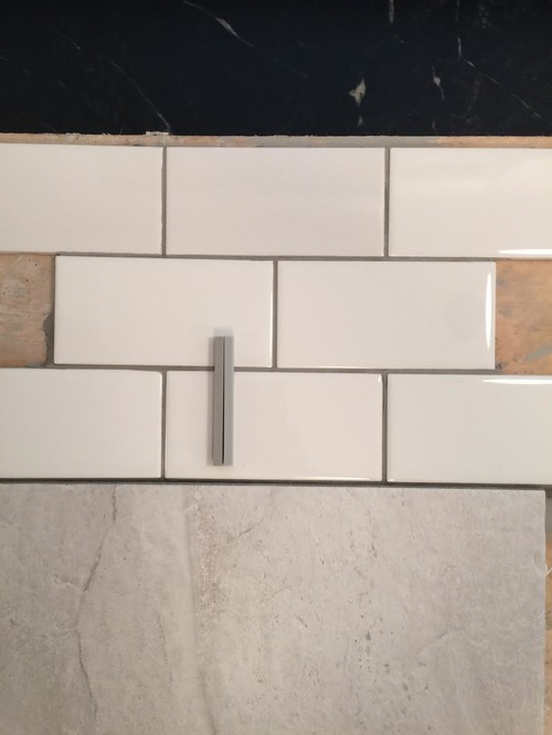 Grout Color for Subway Tile - Please LOOK at photo\'s