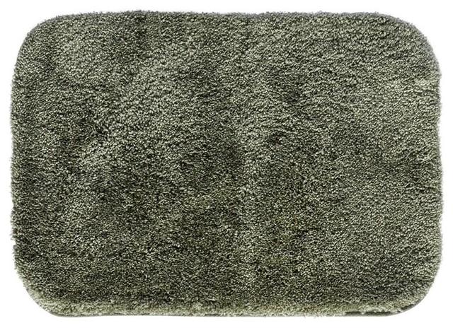 Brilliant Sage Green Reversible 100 Cotton Bath Mat Bathroom Rug  EBay