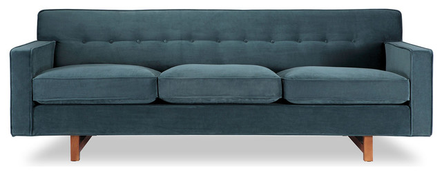 Kennedy Midcentury Modern Classic Sofa Contemporary Sofas by