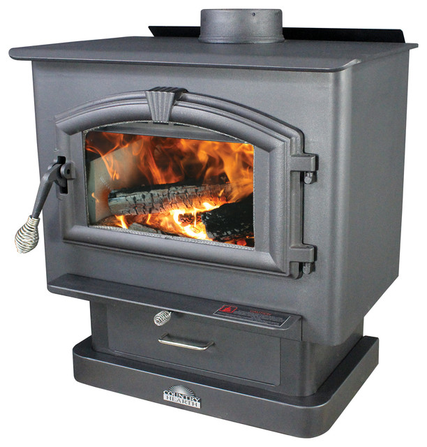 United States Stove Company Medium Epa Certified Wood Stove Freestanding Stoves Houzz