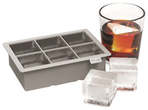 Colossal Ice Cube Tray, Gray