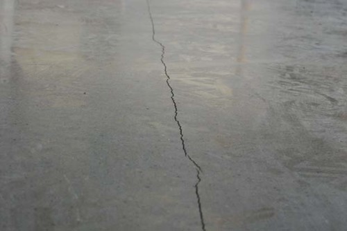 . Best method to stop polished concrete from cracking on floors