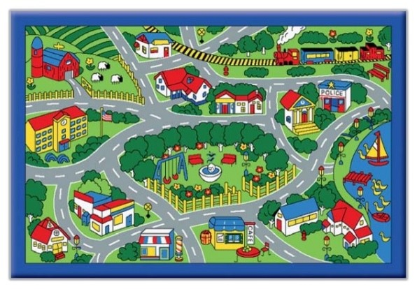 City Rug For Kids Rugs Ideas