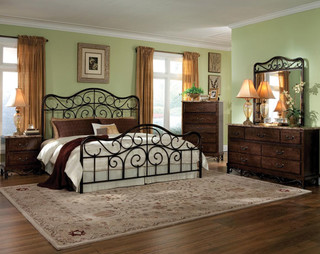 Santa Cruz Bedroom Set Traditional Bedroom Products Columbus By American Freight