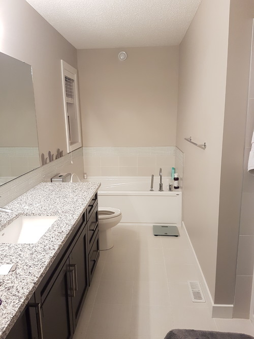 How do I make my bathroom go from boring to chic?