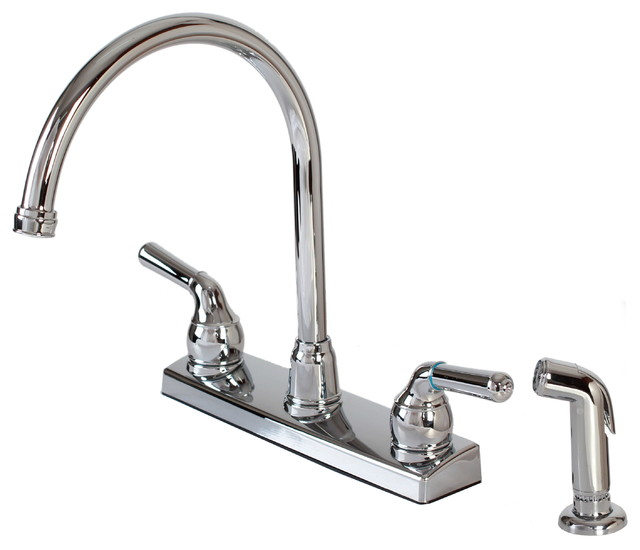 Hardware House Plastic Hardware House Two Handle Kitchen Faucet Chrome View In Your Room
