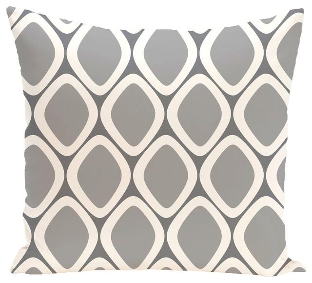 E by design Decorative Pillow Classic Gray