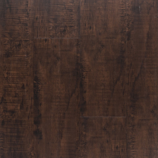 Cocoa oak handscraped plank with cork back nucore 100 for Floor 4 100 floors