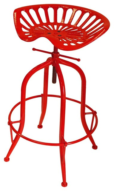 Superb Nach Adjustable Tractor Seat Stool Red Ncnpc Chair Design For Home Ncnpcorg