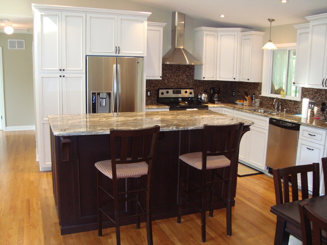 exceptional Split Foyer Kitchen Remodel #5: Kitchen Remodel - Annapolis Split Foyer Home