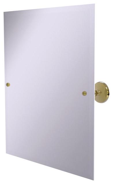 Frameless Rectangular Tilt Mirror With Beveled Edge by Avondale Decor, LLC
