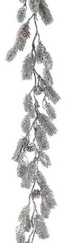 Silk Plants Direct Pine Garland, Set Of 4.