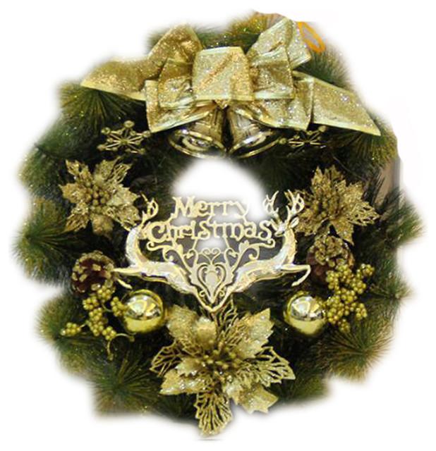Festival Ornaments Beautiful Christmas Wreath Nicedecoration.