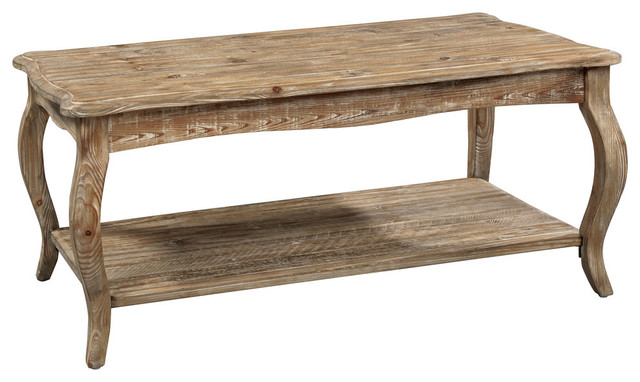 Isaac Reclaimed Driftwood Rustic Coffee Table.