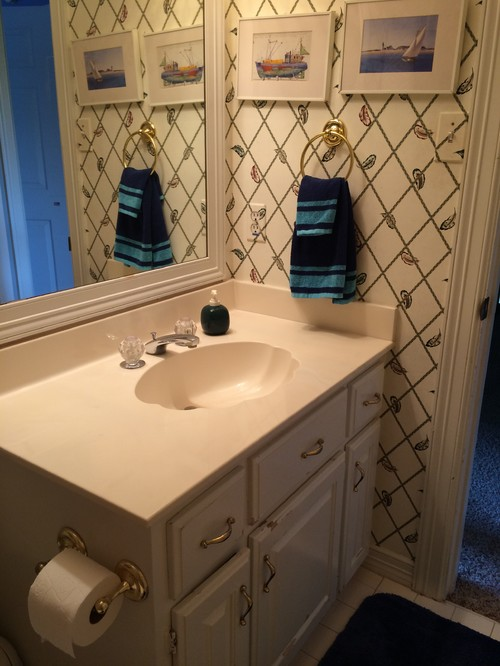 how to tile a kitchen countertop how to update this small bathroom with resale in mind 8919