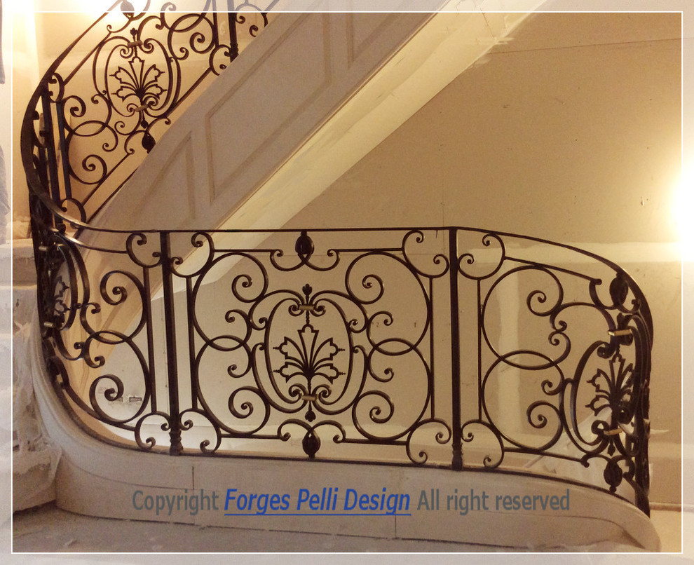 Manhatan wrought iron railings