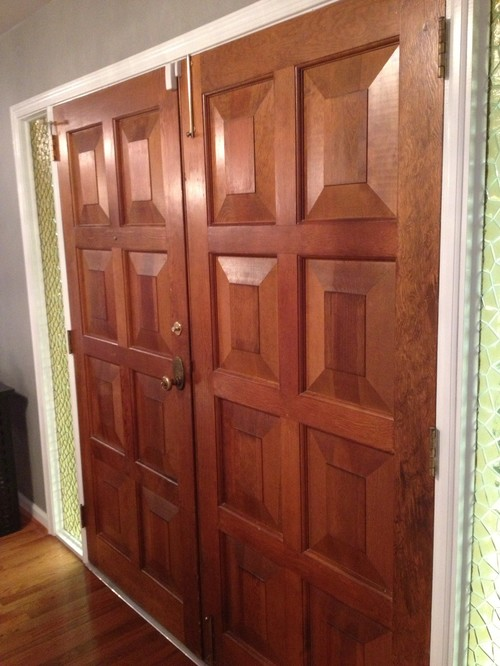 black wood stains stain front door black help
