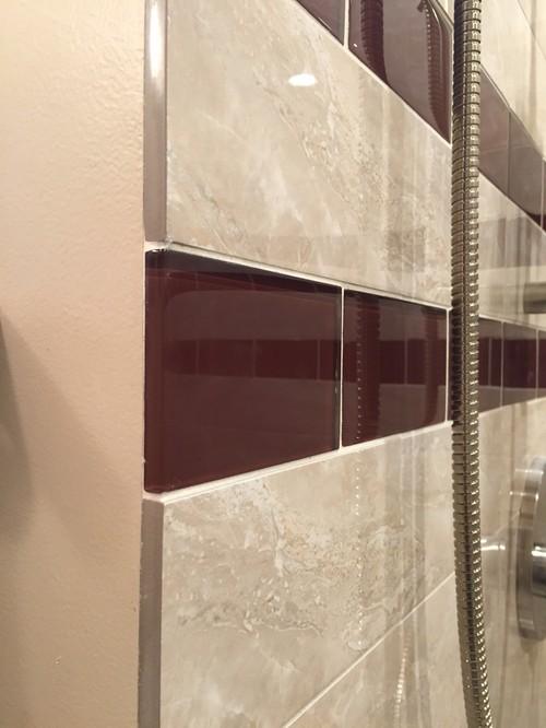 Bathroom Getting Tiled Now Schluter Strip Alternative