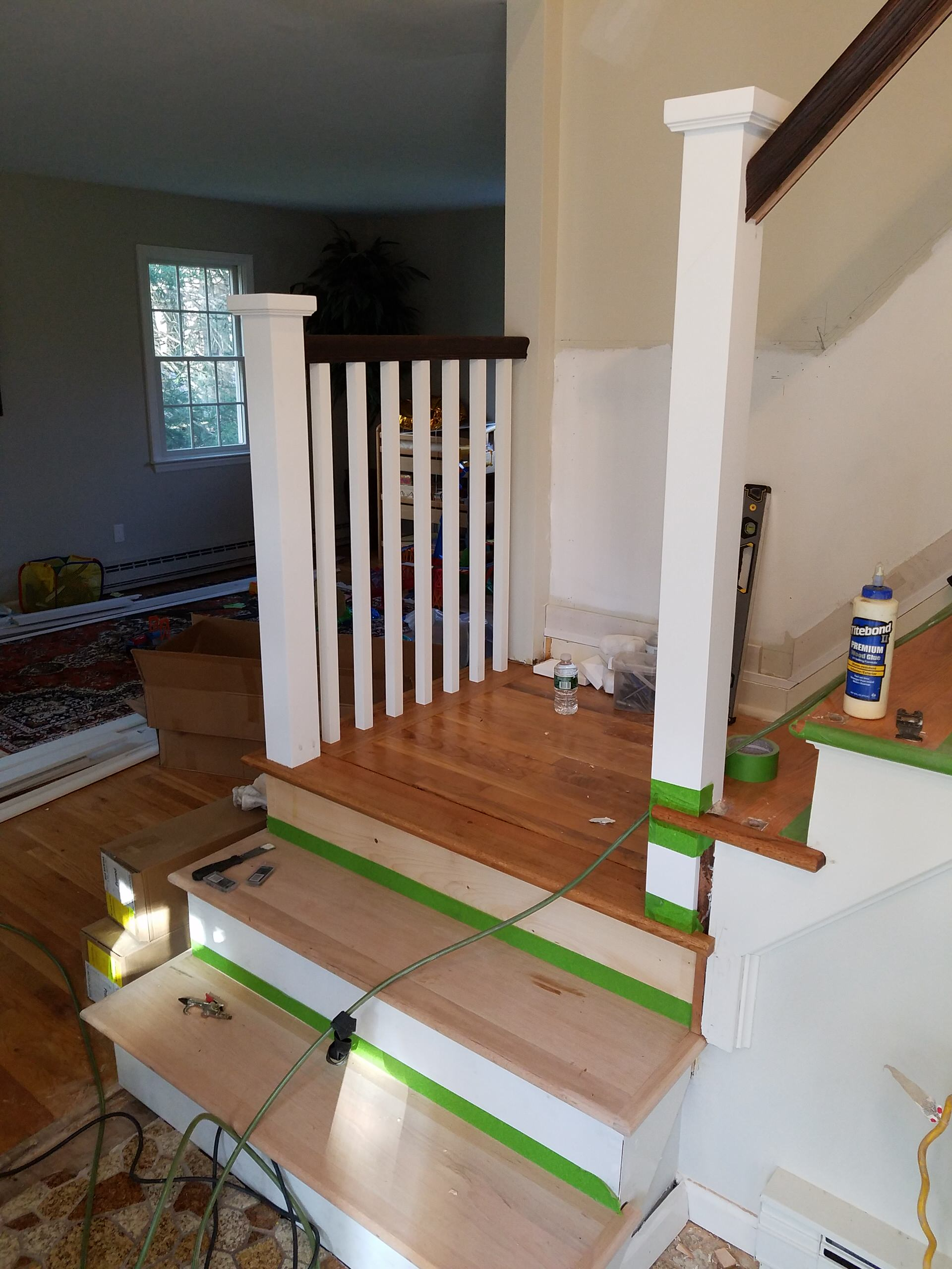 Danbury Stair Update