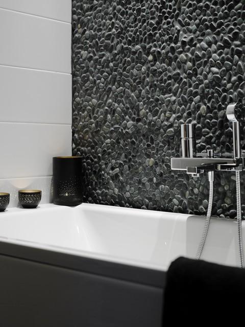 Badrum badrum natursten : Mosaik av riktig natursten i badrum - Other - by Stenbolaget