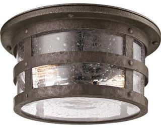 light flush mount outdoor ceiling fixture rustic flush mount. Black Bedroom Furniture Sets. Home Design Ideas