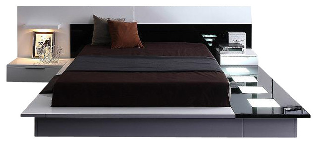 Shop Houzz : Vig Furniture Inc. Impera - Modern-Contemporary lacquer platform bed - Platform Beds