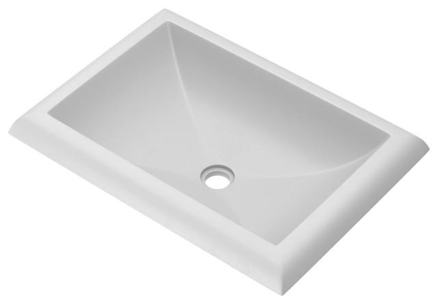 Montecito Bathroom Sink, Pearl