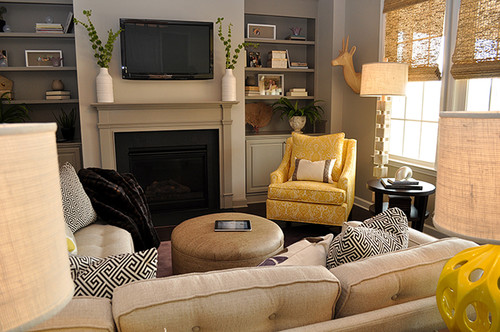 Love The Yellow Accent Chair Where Is It From