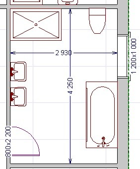 Help with main bathroom layout for Bathroom ideas 3m x 2m