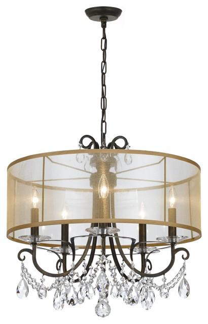 crystorama othello 5light chandelier chandeliers