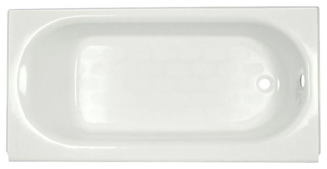 Princeton 5&x27; Bathtub, White.