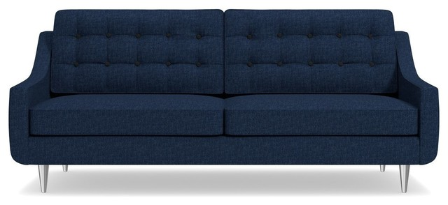 Cloverdale Sofa Navy Midcentury Sofas By Apt2b