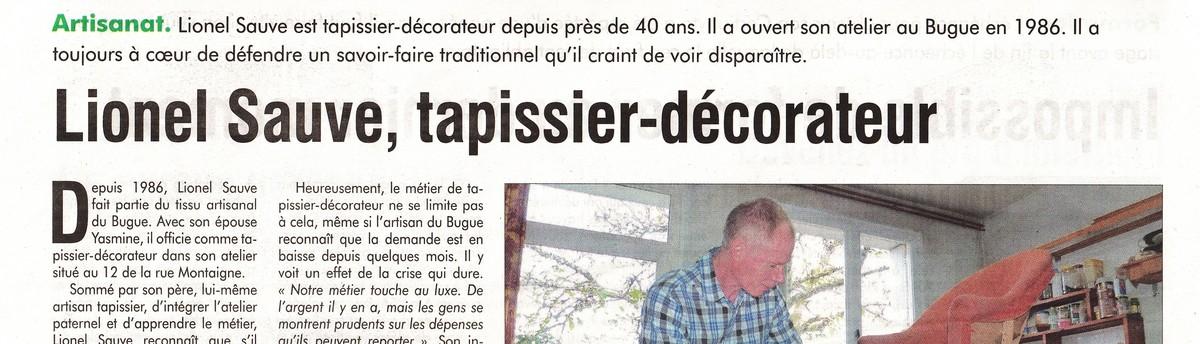 Tapissier decorateur 24 le bugue fr 24260 for Decorateur interieur metier