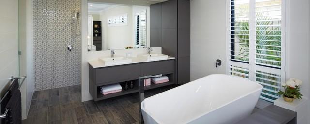 Homegroup Wa Perth Display Home 39 Manhattan Concourse Hilbert Contemporary Bathroom