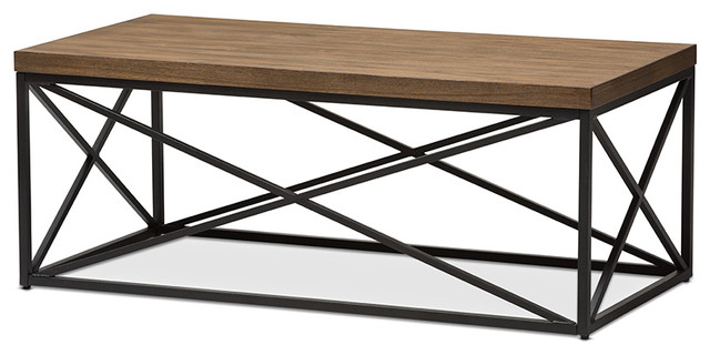 Inspirational Industrial Coffee Tables by Baxton Studio