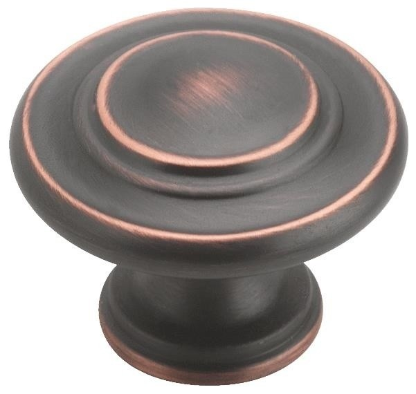 Inspirations 3-Ring Knob - Traditional - Cabinet And Drawer Knobs - by Hipp Modern Builders Supply