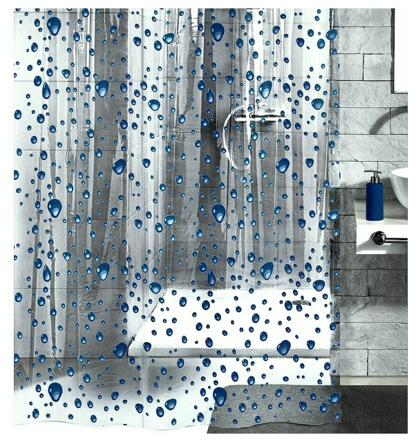 Wonderful Bubble Shower Curtain Contemporary Shower Curtains
