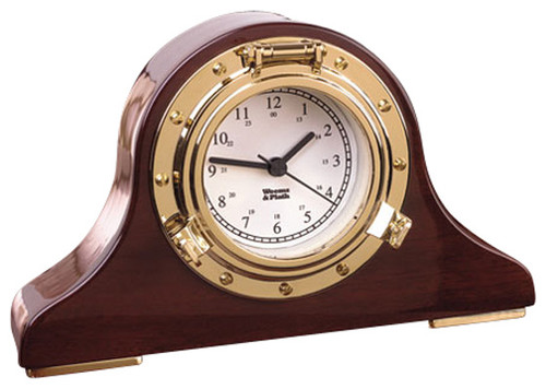 Weems and Plath Nautical Tambour Clock