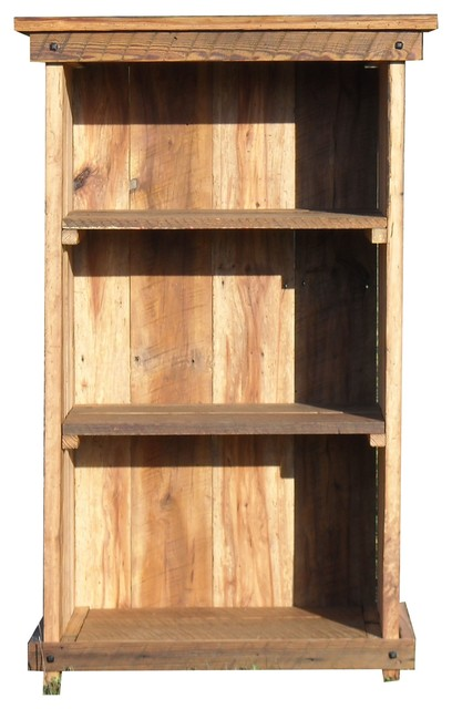 The Rusted Nail Bookcase - Rustic - Bookcases - by The Rusted Nail