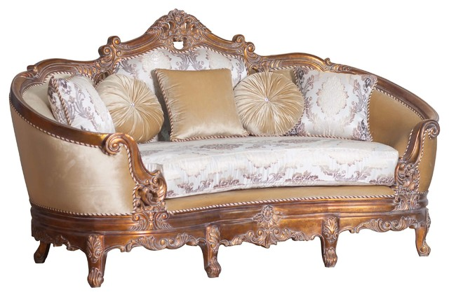 European Furniture Victorian Luxury Love Seat - Victorian ...