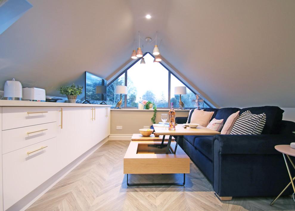 Trendy home design photo in Oxfordshire