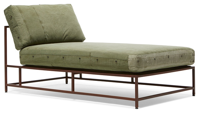 The Inheritance Collection Chaise Lounge Industrial