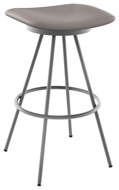Miraculous Beacon Swivel Stool Base Magnetite Glossy Gray Seat Cold Gray Counter Height Evergreenethics Interior Chair Design Evergreenethicsorg