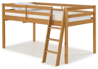 Roxy Twin Junior Loft Bed, Cinnamon