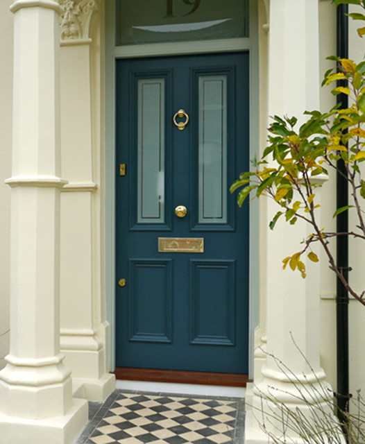Front doors traditional london by the london door for Door companies