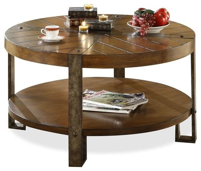 Riverside Furniture Sierra Round Cocktail Table