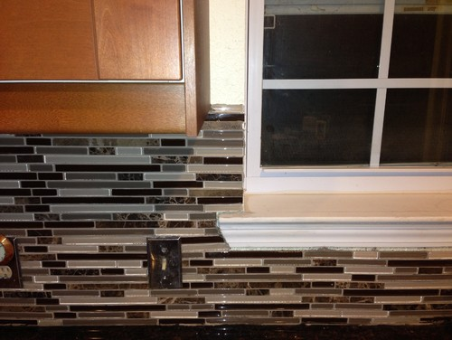 Need Help Finishing Out Kitchen Backsplash