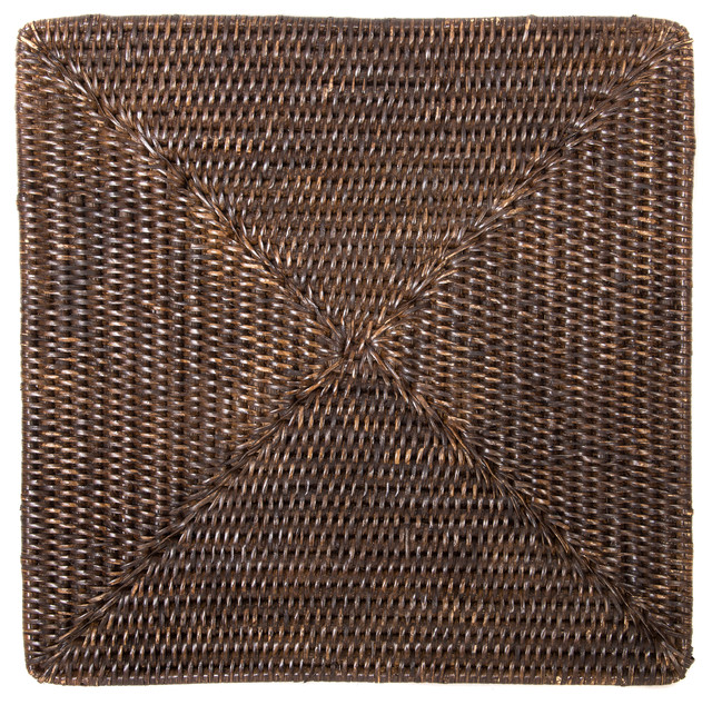 Artifacts Trading Company Rattan Square Placemat
