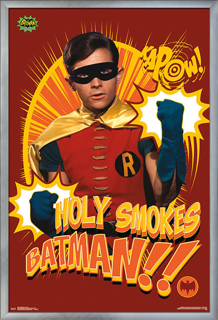 Reproduction poster Wall art. The Batman Vintage Batman movie advert