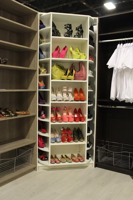 The Revolving Closet Organizer - Manually Rotates 360 degree - Modern - Closet - Miami - by The ...